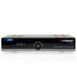 Récepteur satellite DVB-S2 Linux Octagon SF8008 4K UHD