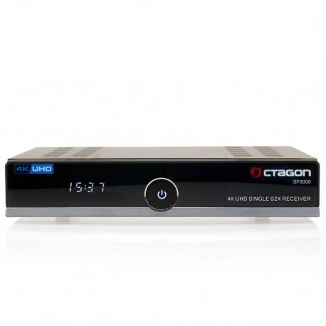 Récepteur satellite DVB-S2 Linux Octagon SF8008 4K UHD Octagon Accessoires SAT OCTAGON-RECEPTEUR-798
