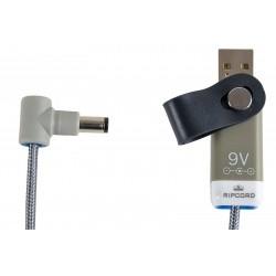 Alimentation 5V 9V ou 12V par câble USB Ripcord USB CABLE-RIPCORD-12V-8012