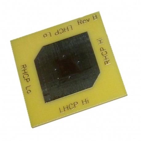 Antenne Patch LHCP 2400Mhz QO-100 WA5VJB