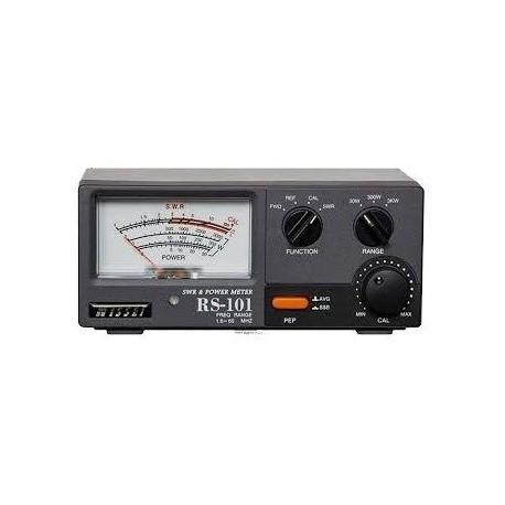 Nissei RS-101 Tosmètre et Wattmètre 1.6-60 MHz 3KW Nissei SWR-Power meter NISSEI-RS101-844