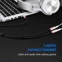 Câble audio diviseur 2x Jack 3.5mm stéréo Vention