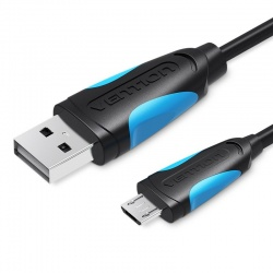 Câble USB 2.0 haute-qualité Vention vers micro-USB, Male A -