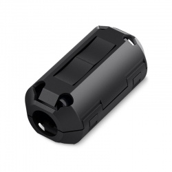 Noyau de ferrite pour câble 7 ou 9mm