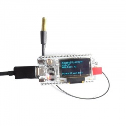 Tracker LoRa 433 & 868 Mhz ESP32 SX1276 Bluetooth WIFI Heltec Heltec Module HELTEC-LORA-868-TRACKER2-883