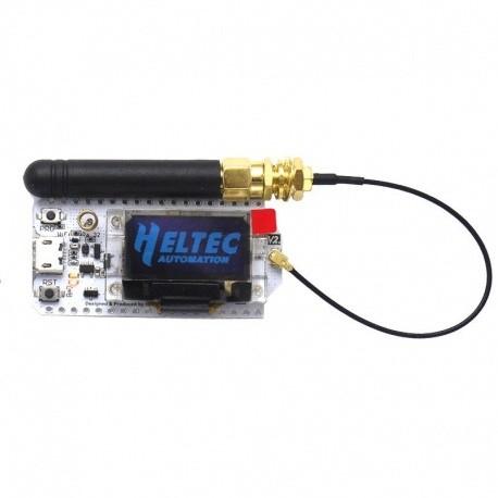 Tracker LoRa 433 & 868 Mhz ESP32 Bluetooth WIFI Heltec
