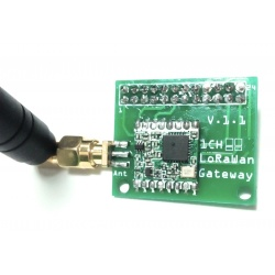 Passerelle LoRa 1 canal 868 Mhz pour Raspberry Pi Tindie Passerelle TINDIE-LORA-PASS1-888