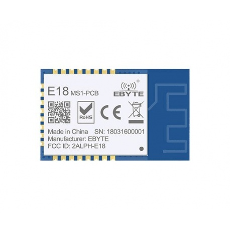 Carte PCB IoT ZigBee 2,5mW CC2530 2.4 Ghz