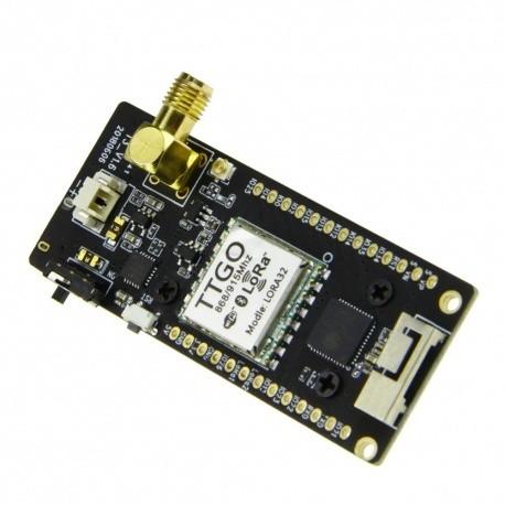 Tracker LoRa 433 & 868 Mhz Paxcounter BLE WIFI LoRaWan