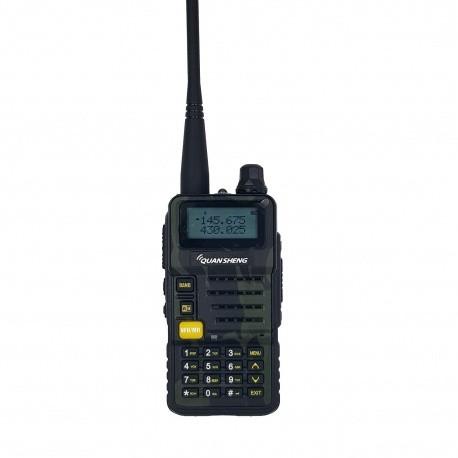 Talkie-Walkie QS UV-R50 (V2) 144-430Mhz 5W Double veille