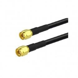 Cable coaxial faible perte avec 2X SMA Male Passion Radio SMA CABLE-COAXIAL-SMA-M-1M-302