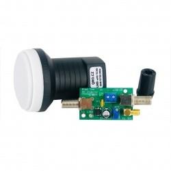 Pack LNB PLL TCXO + BIAS-T pour RX SDR ou 432Mhz QO100 RemoteQTH Satellite & QO-100 QO100-REMOTEQTH-LNB-432-936