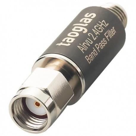 Filtre RF Passe-bande 2.4Ghz 10W WiFi et QO-100 Satellite & QO-100 QO100-FILTRE-TAOGLAS-942