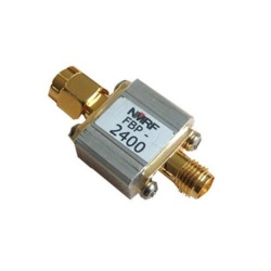 Filtre Passe-bande 2400 Mhz 10W WiFi Zigbee QO100 Satellite & QO-100 QO100-FILTRE2-NMRF-944