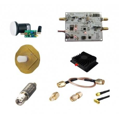 Pack QO-100 Transverter DXpatrol TX 2.4 Ghz RX 10 Ghz Passion Radio Satellite & QO-100 PACK-QO100-TX1-DXPATROL-880