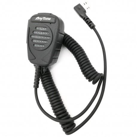 Micro à main pour Anytone D868 & D878 Anytone Accessoires Talkie ANYTONE-MICRO-QHM024-758