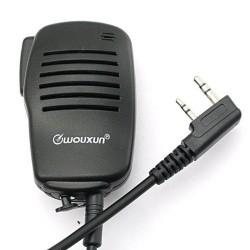 Micro à main Wouxun pour talkie-walkie Wouxun et TYT Baofeng Icom Kenwood Wouxun Accessoires Talkie WOUXUN-MICRO-SMO-001-998