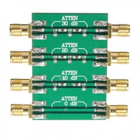 Atténuateur RF PCB de -10dB à -30dB puissance max. 200mW (23dBm) Accessoires SDR XLA-PCB-ATTENUATEUR-1011