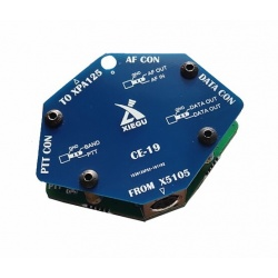 Port d'extension DIGI FT8 Xiegu CE-19 pour X5105 et G90 Xiegu Accessoires HF XIEGU-CARTE-CE-19-1014