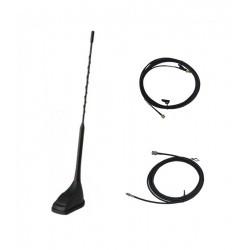 Antenne TETRA VHF-UHF (à tailler) + GPS pour voiture + câble 5m Komunica VHF-UHF KOM-MA-4202-2-1016