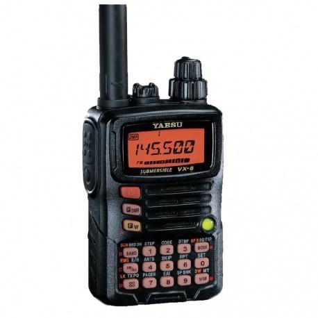 Talkie-walkie étanche Yaesu VX6E 144/430Mhz 5W YAESU Talkie-Walkie YAESU-TALKIE-VX6E-1021