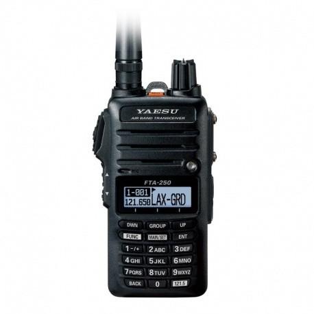 Talkie-walkie VHF Aviation AM 8.33 khz Yaesu FTA-250L YAESU VHF Aviation YAESU-VERTEX-FTA-250L-1025
