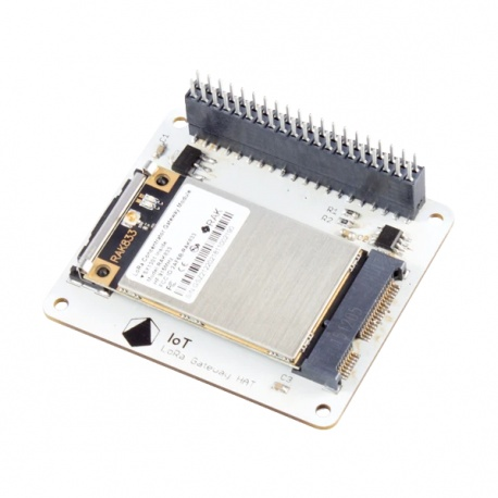 Passerelle LoRa 8 canaux 868 Mhz pour Raspberry Pi et réseau IoT TTN LoRaWAN