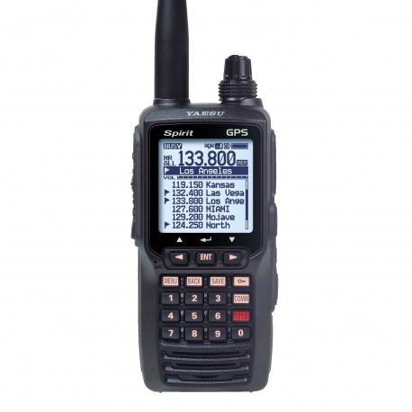 Portable Yaesu FTA-750L VHF Aviation AM 8.33 khz GPS