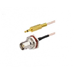 Pigtail mono Jack 3.5mm vers UHF Femelle (SO-239)