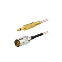Pigtail mono Jack 3.5mm vers prise TV femelle
