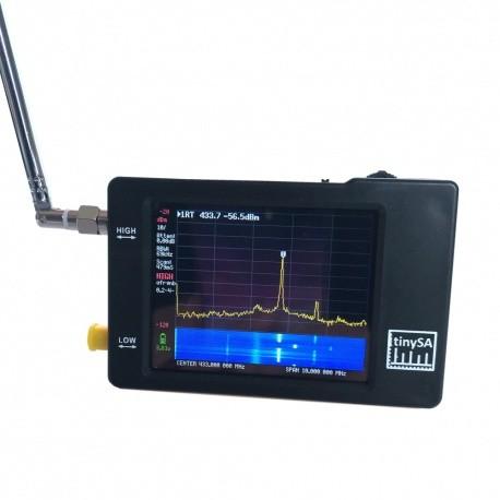 TinySA Analyseur de spectre 100 Khz à 960 Mhz + générateur signal RF