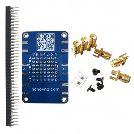 Carte PCB demo et test RF en kit pour VNA et NanoVNA