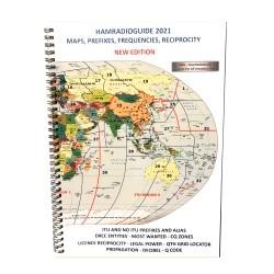 Livret HamRadio Guide 2021 - Carte des préfixes DXCC & QTH Locator