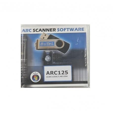 Logiciel ARC125 sur CD pour UNIDEN UBC125XLT Uniden Accessoires UNIDEN-CD-ARC125-923
