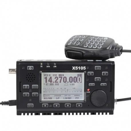 Portable HF Xiegu X5105 QRP 0-30Mhz + 6M + Tuner + FI Xiegu Postes HF / 50Mhz XIEGU-X5105-544