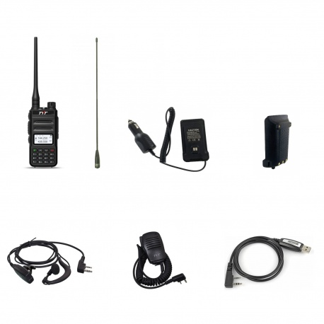 Pack Outdoor 2 Baofeng UV-82 : Etui + Batterie + Câble Baofeng Talkie-Walkie PACK-BAOFENG-OUTDOOR-UV82-498