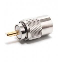 PL male 6mm pour coaxial RG-58