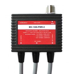 Triplexeur 1.6-160 / 350-550 / 850-1300Mhz + câbles