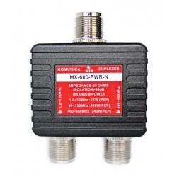 Duplexeur 1,6-150 Mhz / 400-460 MHz connecteurs N