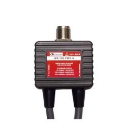 Duplexeur 1,6-150 Mhz et 400-470 MHz avec câble