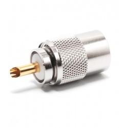 PL-259 11mm (UHF male) pour RG-213 / H-2000 / AIRCOM-P / LMR400