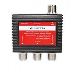 Triplexeur 1.6-160 (PL) / 350-550 (N) / 850-1300MHz (N)