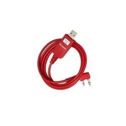 Câble USB de programmation Wouxun officiel Wouxun Accessoires Talkie WOUXUN-CABLE-PROG-654