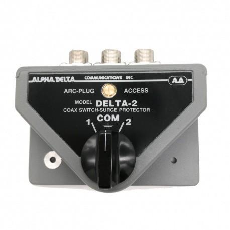 Switch d'antenne 2 positions avec SO-239 (UHF-femelle)