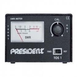 President TOS-1 Compteur SWR CB 27Mhz
