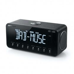 Radio réveil avec récepteur DAB+ FM Bluetooth et USB Muse M-196 DBT