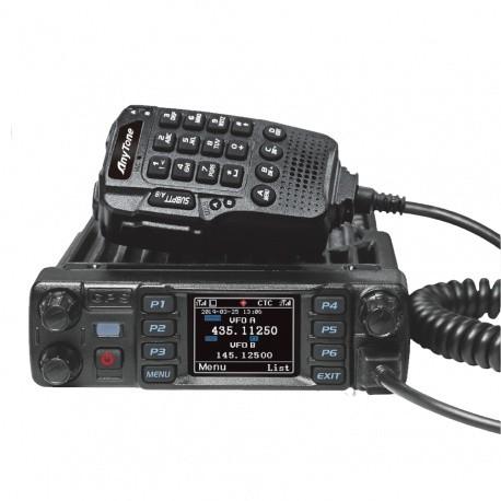Radio Mobile Anytone AT-D578UV PLUS V2 GPS APRS DMR FM VHF-UHF Bluetooth