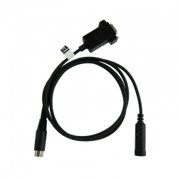 Câble de données Yaesu CT-163 Mini DIN10 vers Mini DIN6 + DSUB9 pour FTM-400XDE