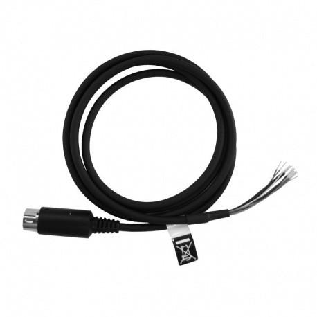 Câble de données Yaesu CT-167 Mini DIN10 vers fil dénudé compatible FTM-400XDE