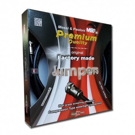 Câble coaxial M&P 10.3mm avec connecteur N-Male HYPERFLEX10
